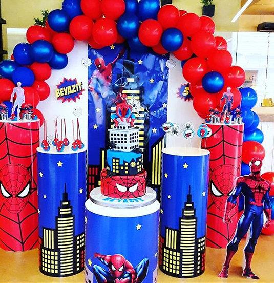 Örümcek Adam Temalı Doğum Günü Organizasyonu