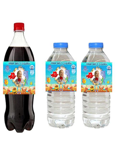 Kırmızı Balık Su ve Meşrubat Etiketi
