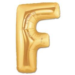F Harfi Gold Folyo Balon