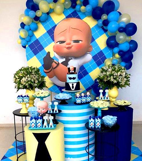 Patron Bebek Temalı Doğum Günü Organizasyonu