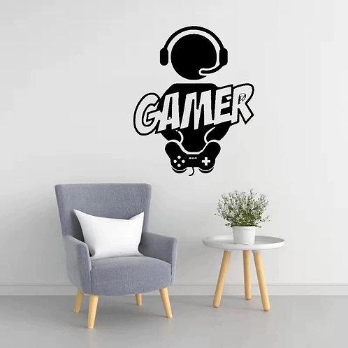 Gamer Duvar Sticker Çıkartma 6