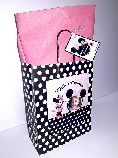 Minnie Mouse Doğum Günü Hediye Çantası