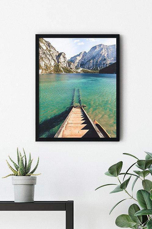 Göl Manzarası 2 Tablo Poster