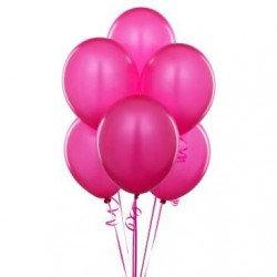 Metalik Fuşya Balon