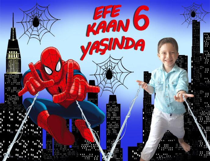Örümcek Adam Spiderman Temalı Afiş