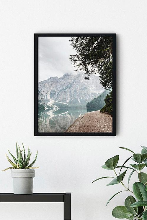Göl Manzarası 9 Tablo Poster