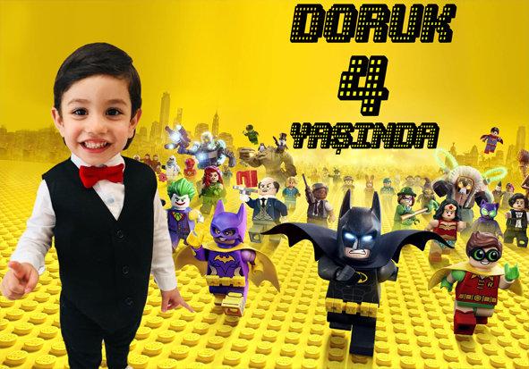 Lego Batman Temalı Afiş