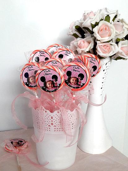Minnie Mouse Doğum günü Sosyete Şekeri