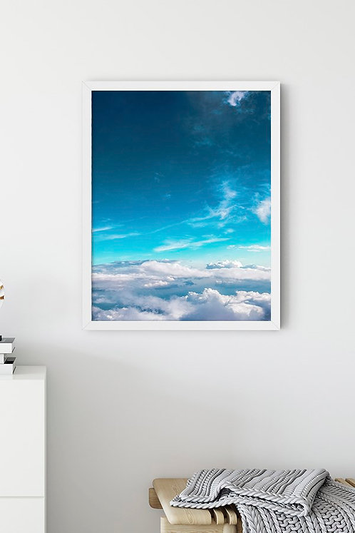 Bulut Tablo Poster
