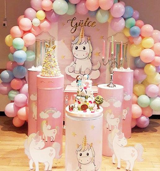 Unicorn Temalı Doğum Günü Organizasyonu
