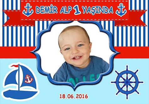 Denizci Temalı Afiş 3