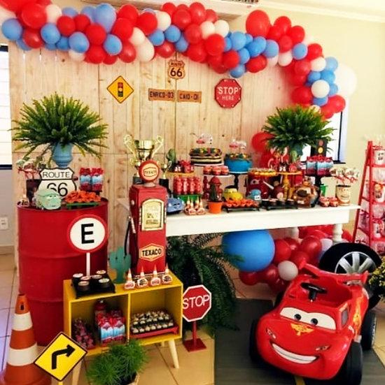 Arabalar Temalı Doğum Günü Organizasyonu