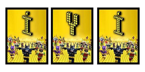 Lego Batman Doğum Günü Flama Bayrak