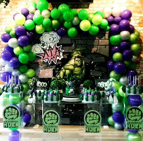 Hulk Temalı Doğum Günü Organizasyonu