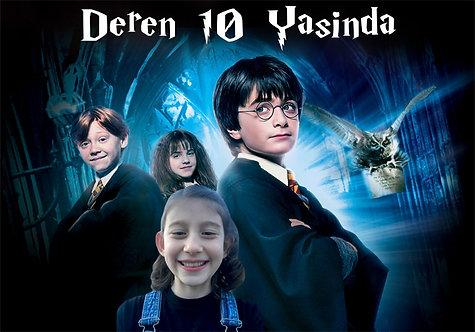 Harry Potter Doğum Günü Afiş