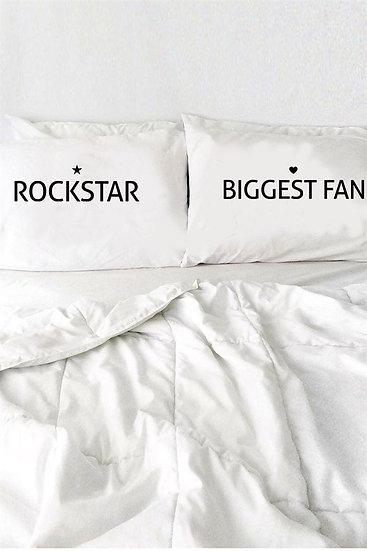 Rockstar Kişiye Özel 2li Yastık Kılıfı
