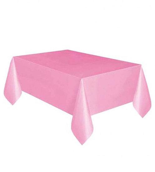 Pembe Masa Örtüsü Plastik