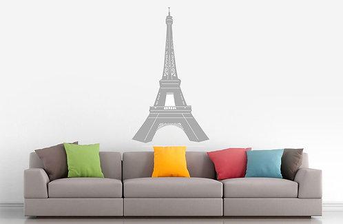 Eiffel Paris Duvar Laptop Çıkartma