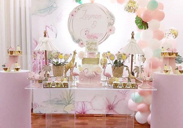 Flamingo Temalı Doğum Günü Organizasyonu