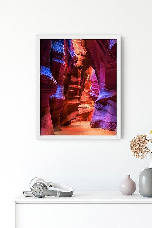 Antilop Kanyonu  2 Tablo Poster