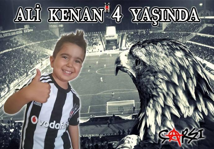 Beşiktaş Bjk Temalı Afiş