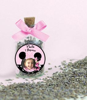 Minnie Mouse Doğum Günü Lavanta Şişesi