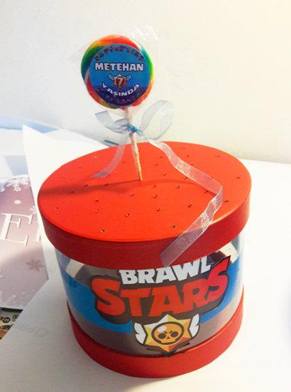Brawl Stars Doğum günü Sosyete Şekeri