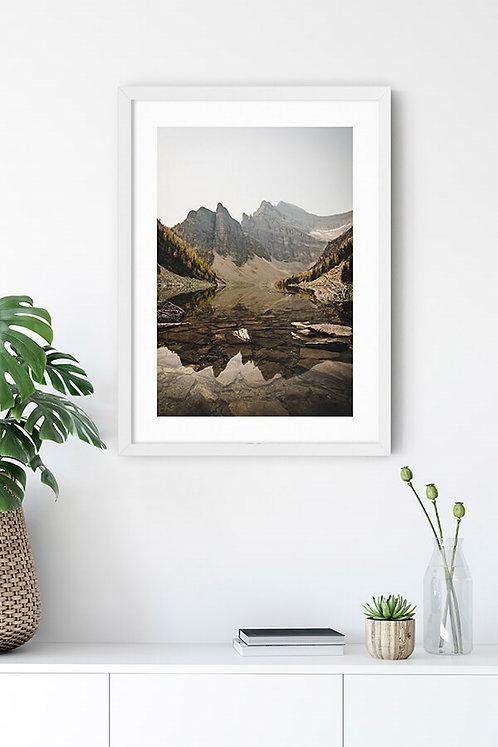 Göl Manzarası 10 Tablo Poster