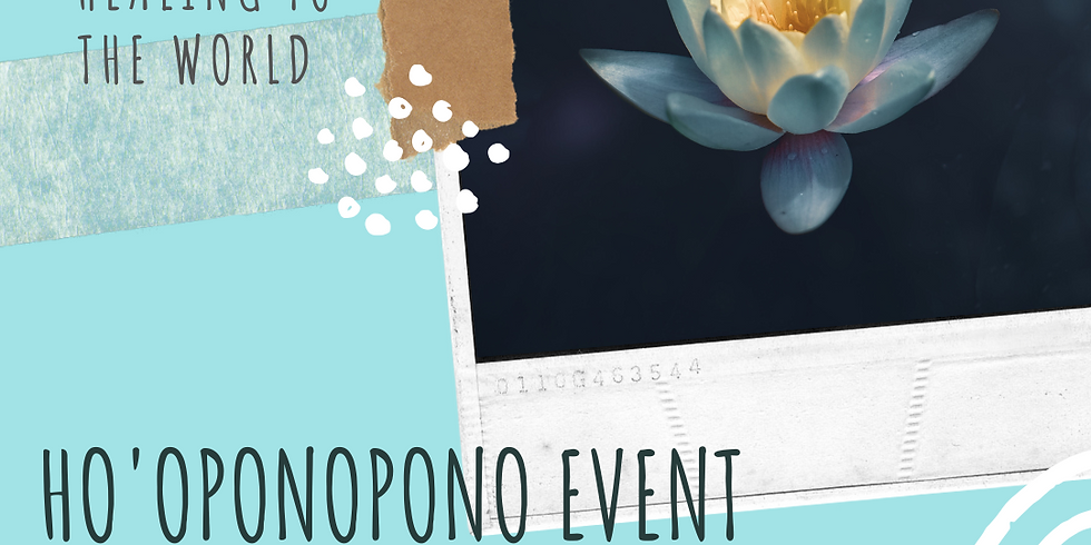 Ho'oponopono - Facebook Live event from The Soul Spa