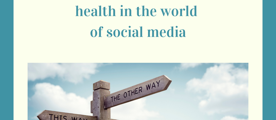 Mini manifesto for maintaining mental health in the world of social media