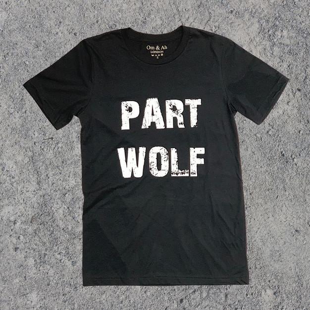 Om & Ah - Part Wolf tee shirt