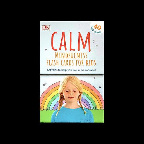 "DK.  ""Calm Mindfulness Flash Cards for Kids"""