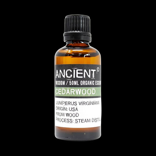 Cedarwood ORGANIC essential oil - 50ml