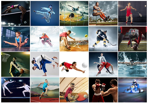 Sporcu internet sayfası tasarımı