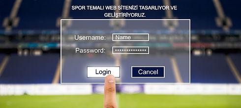Spor Web Tasarımı
