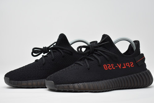 4af57ffe0a13 Adidas Yeezy Boost 350 v2 Black   Red Black BY9612