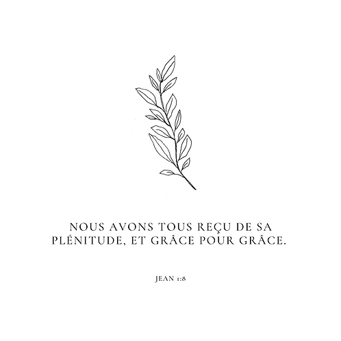 French Printable Scripture Cards