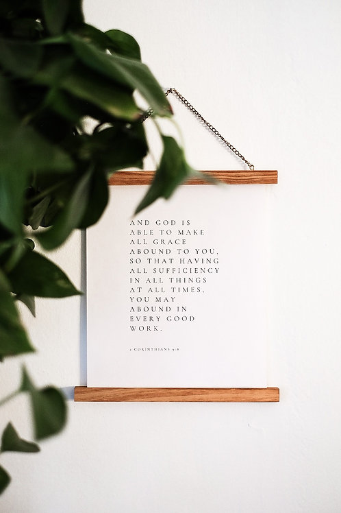 All Grace Printable