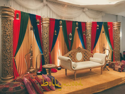 Arabian Style Henna Setup