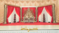 GOLDEN SAHARA OPEN FORMAT MANDAP