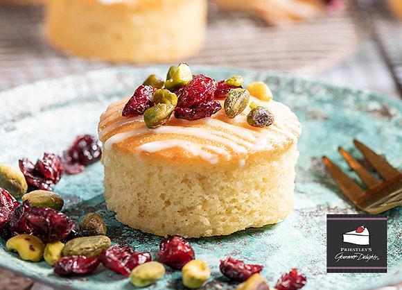 Priestleys Orange & Almond Cake - Gluten Free & Dairy Free (95GX8) (6)