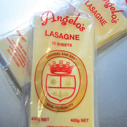 Angelo's Dry Lasagne Sheets 400g