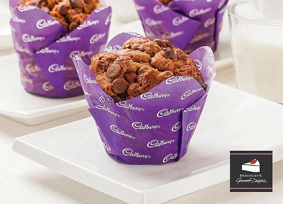 Cadbury Chocolate Muffin (6 Serves) - $2.24 per piece