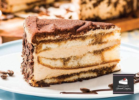 Tiramisu Gateaux Cake Pre Portioned (135GX14) (2)
