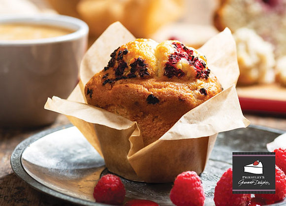 Priestleys Raspberry Muffin G/F (150GX6) (4)