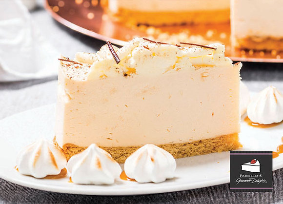 French Vanilla Cheesecake Pre Cut (138GX16) (2)