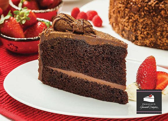 Celestial Mud Cake Gluten Free (16 Serves) - $3.06 per piece