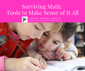 math supports low tech assistive tech