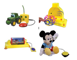 examples of switch-adapted toys