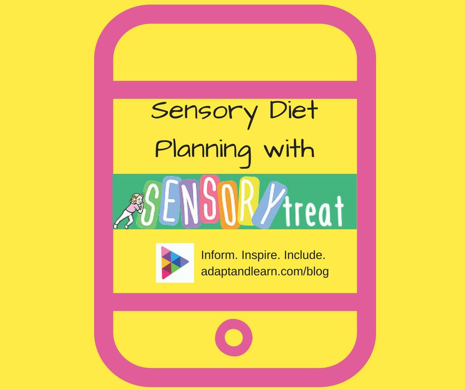 sensory diet planning app for SPD autism ADHD